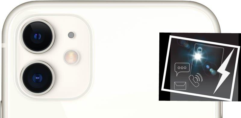 Лайфхак по настройке ярких оповещений вспышкой при звонке на iPhone 11 на iPhone 11 Pro