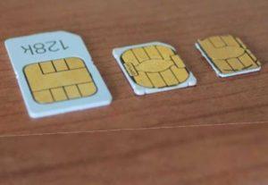 Уже 5 поколение айфонов обрезало карту еще меньше до размеров самого чипа