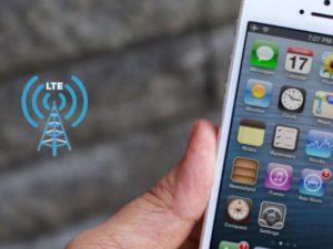 рекомендуется дополнительно включать LTE на телефоне