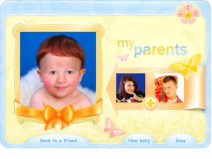 - создает портрет ребенка по родительским фотографиям;
