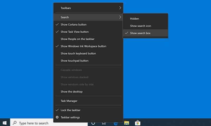 Windows Search от Microsoft индексирует данные только для выбранных областей
